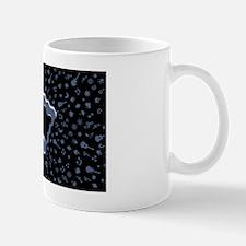 wavy-notes-OV Small Mugs