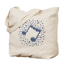 wavy-notes-DKT Tote Bag