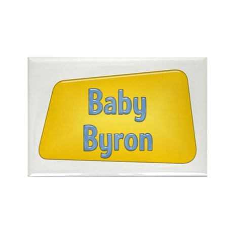 Baby Byron Rectangle Magnet (10 pack)