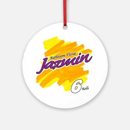 Jazmin Round Ornament