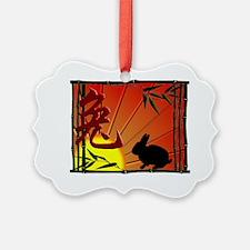 Zodiac Rabbit Ornament