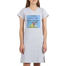 CROQUET player gifts t-shirts Women's Nightshirt