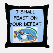 TABLETENNIS Throw Pillow