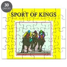 thoroughbred horse racing race track joke Puzzle