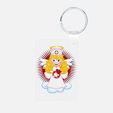 Angel-Watching-Over-Me-Nur Keychains