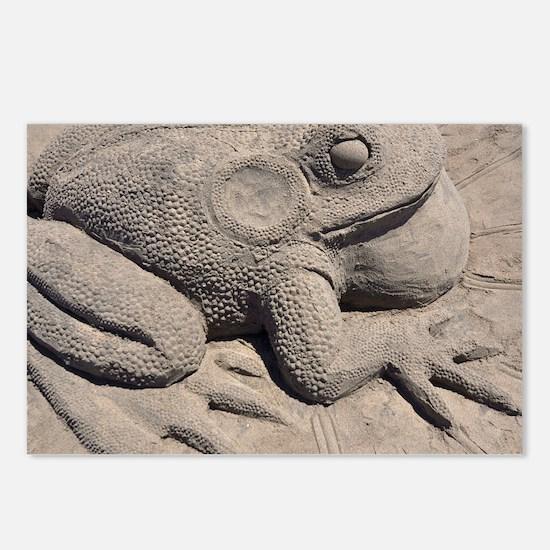 Port Hueneme Sand Sculptu Postcards (Package of 8)