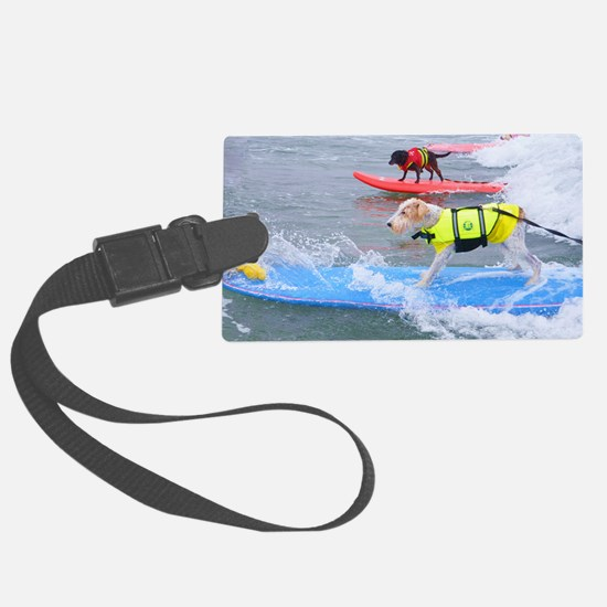 Helen Woodward surf contest Luggage Tag