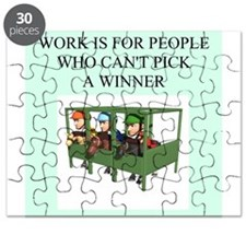 funny jokes sports horse racing Puzzle