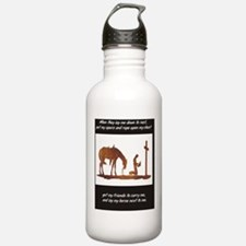 Cowboycross Water Bottle