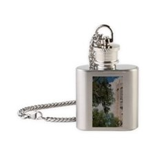 Bok Sanctuary. The carillon tower w Flask Necklace