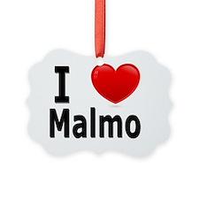 I Love Malmo Ornament