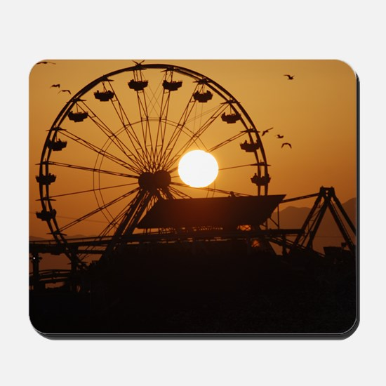 The Last Sunset Mousepad
