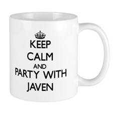 Keep Calm and Party with Javen Mugs