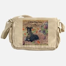 He knew his help was invaluable w ca Messenger Bag