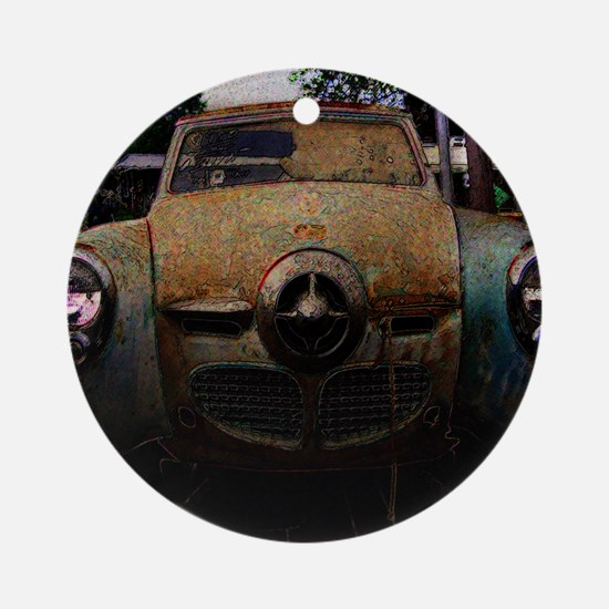 old_studebaker copy Round Ornament