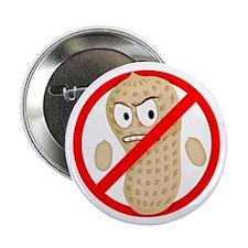 """Angry_Peanut_Tshirt 2.25"""" Button"""