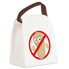 Angry_Peanut_Tshirt Canvas Lunch Bag