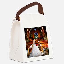 wedding_gown copy Canvas Lunch Bag