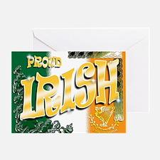 PROUD-IRISH Greeting Card