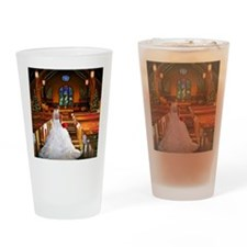 wedding_gown copy Drinking Glass