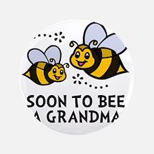 "Soon 2bee Grandma 3.5"" Button"