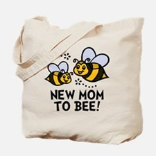 New Mom Bee Tote Bag