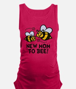 New Mom Bee Maternity Tank Top