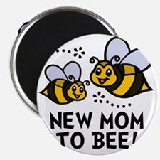 New Mom Bee Magnet