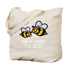 New Mom Bee -dk Tote Bag