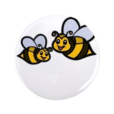 "New Mom Bee -dk 3.5"" Button"