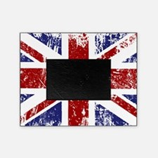 British Flag Punk Grunge Picture Frame