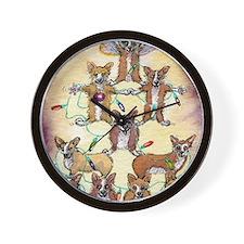 Fur tree Wall Clock