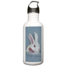 Happy Holidays Bunny Water Bottle