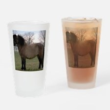 pony_mpad Drinking Glass