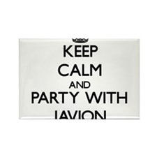 Keep Calm and Party with Javion Magnets