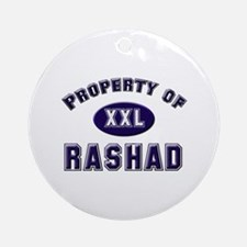 Property of rashad Ornament (Round)