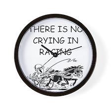 harness racing gifts Wall Clock