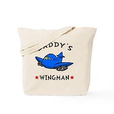 Daddys Wingman Tote Bag