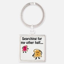 pbjsearch Square Keychain