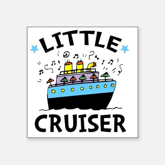 """Cruiser Square Sticker 3"""" x 3"""""""