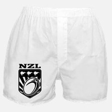rugby ball kiwi shield new zealand Boxer Shorts