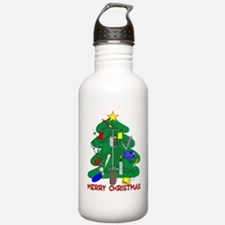 Merry Christmas Medica Water Bottle