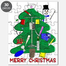 Merry Christmas NURSE TREE Puzzle