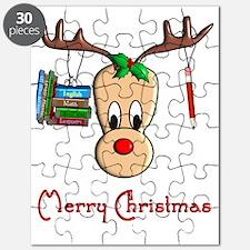 Reindeer Teacher Puzzle
