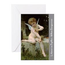 L'Amour au Papillon Greeting Cards (Pk 10)