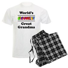 Grooviest_GreatGrandma pajamas