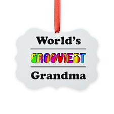 Grooviest_Grandma Ornament