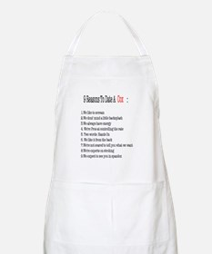 reasons to date a cox Apron