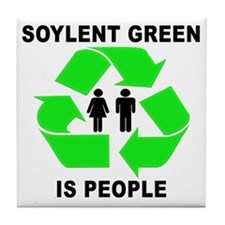 Soylent Green Tile Coaster