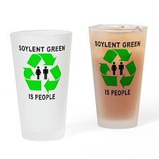 Soylent Green Drinking Glass
